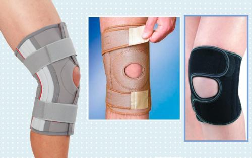 Популярные модели медицинских полужестких разъемных повязок для колена