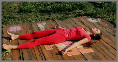 Заканчивать занятие надо в финальной расслабляющей позе (1-3 минуты)