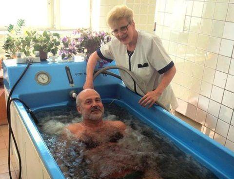 Жемчужная минеральная ванна